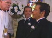 Reverend Paul Cross, Trent Rushworth, Peter Hannay in Neighbours Episode 3347