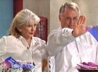 Madge Bishop, Harold Bishop in Neighbours Episode 3349