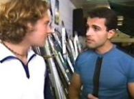 Joel Samuels, Spiro Politis in Neighbours Episode 3355