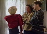 Amy Greenwood, Joel Samuels, Lance Wilkinson in Neighbours Episode 3391