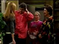 Felicity Scully, Joe Scully, Michelle Scully, Lyn Scully in Neighbours Episode 3466