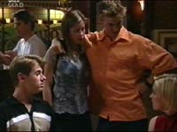 Billy Kennedy, Anne Wilkinson, Amy Greenwood, Lance Wilkinson in Neighbours Episode 3467