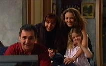 Karl Kennedy, Susan Kennedy, Libby Kennedy, Louise Carpenter (Lolly) in Neighbours Episode 3549