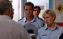 Harold Bishop, Sgt. Joanna Douglas in Neighbours Episode 3550