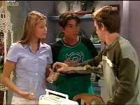 Felicity Scully, Paul McClain, Tad Reeves in Neighbours Episode 3564