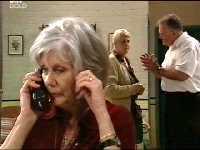 Madge Bishop, Wendy Baker, Harold Bishop in Neighbours Episode 3564