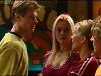 Lance Wilkinson, Steph Scully, Dee Bliss, Joel Samuels in Neighbours Episode 3566