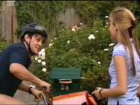 Postie Pete Redman, Felicity Scully in Neighbours Episode 3569