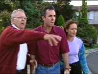 Harold Bishop, Karl Kennedy, Susan Kennedy in Neighbours Episode 3571