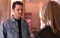 Larry Woodhouse (Woody), Steph Scully in Neighbours Episode 3691