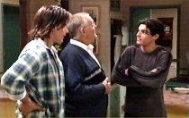 Drew Kirk, Harold Bishop, Paul McClain in Neighbours Episode 3695