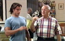 Drew Kirk, Madge Bishop, Harold Bishop in Neighbours Episode 3700