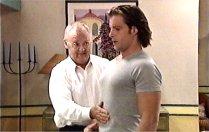 Drew Kirk, Harold Bishop in Neighbours Episode 3705