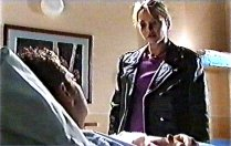 Larry Woodhouse (Woody), Steph Scully in Neighbours Episode 3706