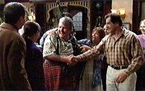 Karl Kennedy, Susan Kennedy, Fergus MacLeod, Rose Kirk, Ron Kirk in Neighbours Episode 3707