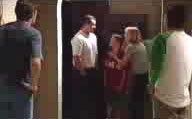 Evan Hancock, Toadie Rebecchi, Leo Hancock, Maggie Hancock, Matt Hancock in Neighbours Episode 3749