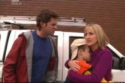 Evan Hancock, Maggie Hancock, Leo Hancock in Neighbours Episode 3812