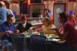 Karl Kennedy, Susan Kennedy, Libby Kennedy, Drew Kirk in Neighbours Episode 3813