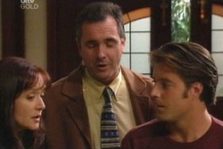 Susan Kennedy, Karl Kennedy, Drew Kirk in Neighbours Episode 3814