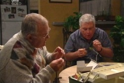 Harold Bishop, Lou Carpenter in Neighbours Episode 3814