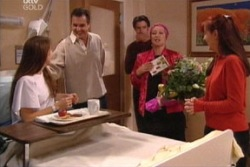 Libby Kennedy, Karl Kennedy, Drew Kirk, Dame Margaret, Susan Kennedy in Neighbours Episode 3814