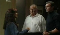 Susan Kennedy, Harold Bishop, Karl Kennedy in Neighbours Episode 3831