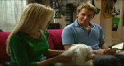 Dee Bliss, Bob, Joel Samuels in Neighbours Episode 3833