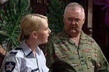 Sgt. Joanna Douglas, Harold Bishop in Neighbours Episode 4243
