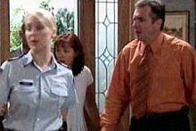 Sgt. Joanna Douglas, Karl Kennedy, Susan Kennedy in Neighbours Episode 4248