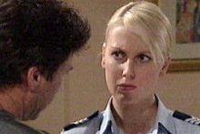 Joe Scully, Sgt. Joanna Douglas in Neighbours Episode 4248