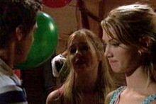 Jack Scully, Belinda Ewett, Nina Tucker in Neighbours Episode 4257