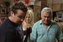 Toadie Rebecchi, Dee Bliss, Lou Carpenter in Neighbours Episode 4258