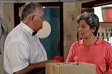 Ruby Dwyer, Harold Bishop in Neighbours Episode 4259