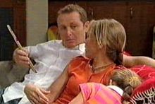 Max Hoyland, Steph Scully, Summer Hoyland in Neighbours Episode 4264