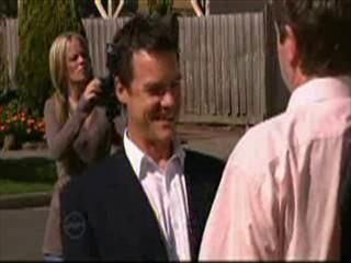 Paul Robinson, David Bishop in Neighbours Episode 4642
