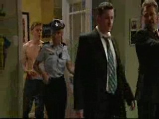 Boyd Hoyland, Detective Phil Graham, Detective Chris Poulos in Neighbours Episode 4644