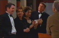 David Bishop, Susan Kennedy, Liljana Bishop, Alex Kinski in Neighbours Episode 4836