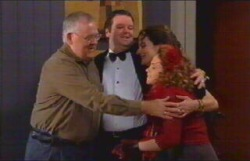 Harold Bishop, David Bishop, Liljana Bishop, Serena Bishop in Neighbours Episode 4836