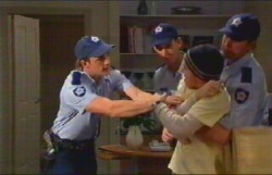 Allan Steiger, Stuart Parker, Stingray Timmins in Neighbours Episode 4836