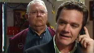 Harold Bishop, Paul Robinson in Neighbours Episode 4875