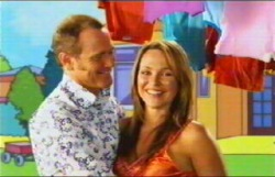 Max Hoyland, Steph Scully in Neighbours Episode 4876