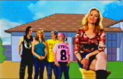 Dylan Timmins, Janae Timmins, Stingray Timmins, Bree Timmins, Janelle Timmins in Neighbours Episode 4876
