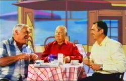 Lou Carpenter, Harold Bishop, Karl Kennedy in Neighbours Episode 4876