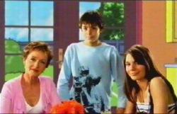 Zeke Kinski, Rachel Kinski, Susan Kennedy in Neighbours Episode 4876