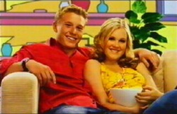Boyd Hoyland, Janae Timmins in Neighbours Episode 4876