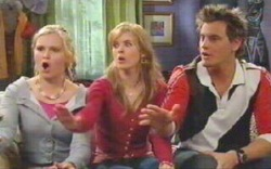 Janae Timmins, Elle Robinson, Ned Parker in Neighbours Episode 4880