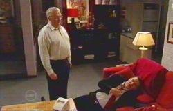 Harold Bishop, Paul Robinson in Neighbours Episode 4882