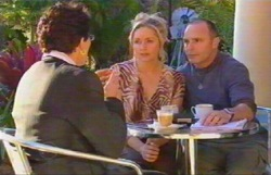 Melody Jones, Janelle Timmins, Kim Timmins in Neighbours Episode 4883