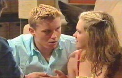 Boyd Hoyland, Janae Timmins in Neighbours Episode 4884