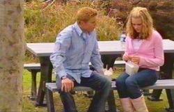 Janae Timmins, Boyd Hoyland in Neighbours Episode 4885